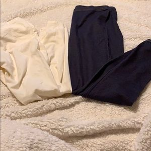 2PC GIRLS LEGGINGS. 2 FOR THE PRICE OF ONE.